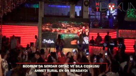 Bodrum'da Sıla ve Serdar Ortaç rüzgarı