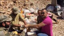 İşadamı Kato Dağı'nda Mehmetçikle mangal yaptı
