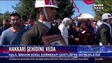 Şehit er Halil İbrahim Gürel'e veda