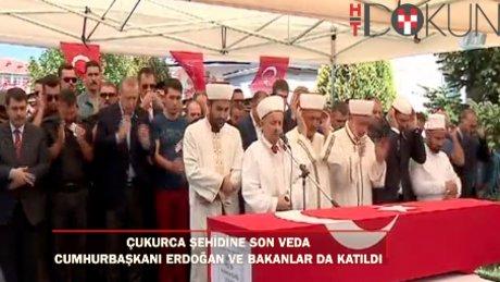 Hakkari şehidinin cenazesine Cumhurbaşkan Erdoğan da katıldı