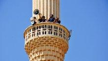 Bayram boyunca minareye çıktılar! Nedeni ise...