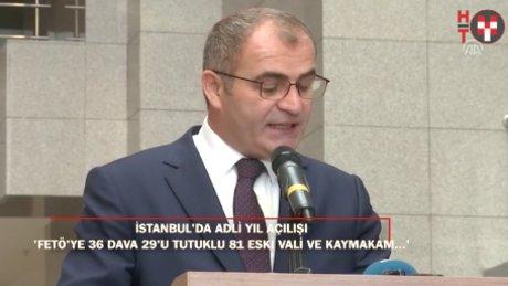 İstanbul'da adli yıl açılışı: Başsavcı Fidan'dan yargı bağımsızlığı vurgusu