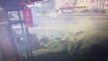 Avcılar'da faciadan dönülen kaza kamerada