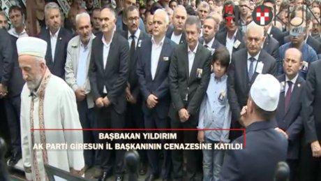 Başbakan Yıldırım AK Partili Tütüncü'nün cenaze namazına katıldı