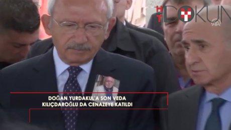 Doğan Yurdakul'a son veda: Kılıçdaroğlu ve Feyzioğlu da cenazede