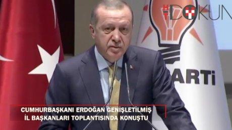 """Cumhurbaşkanı Erdoğan: """"Bize dava adamı lazım"""""""