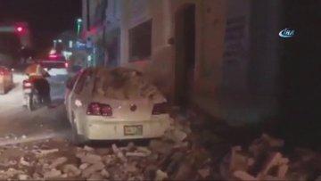 Meksika 8 şiddetindeki depremle sarsıldı