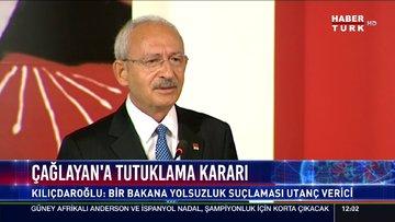 Kılıçdaroğlu'ndan Zafer Çağlayan yorumu