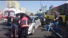 D-100 Karayolu Mecidiyeköy mevkiinde kaza