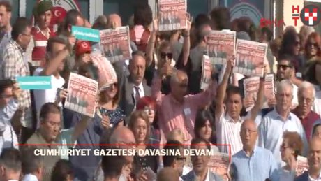 Cumhuriyet Gazetesi davasına Silivri'de devam