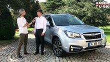 Subaru Türkiye Genel Müdürü Halil Karagülle yeni Forester'ı anlattı