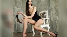 Dünyanın en uzun bacaklı kadını
