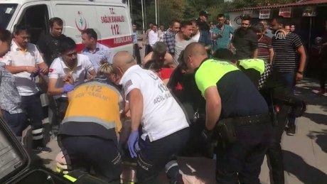 Ankara Adliyesi önünde bıçaklı kavga: 3 yaralı