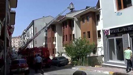 Edirnekapı'da yangın paniği