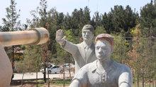 Harran'da 15 Temmuz Anıtı'ndaki Erdoğan heykeli kaldırıldı