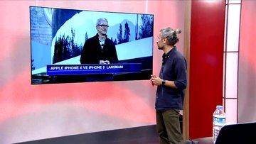 Apple CEO'su Tim Cook, Apple Park'ı anlatarak lansman açılışını yaptı