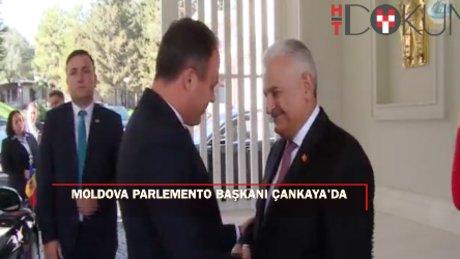 Başbakan Yıldırım, Moldova Cumhuriyeti Parlamento Başkanı'nı kabul etti