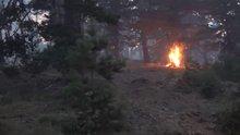 Bozüyük yangını 5'inci gününde
