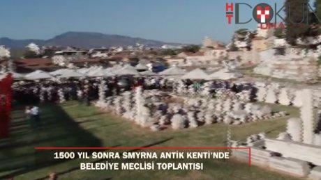 1500 yıl sonra İzmir Agora'sında Meclis toplantısı yapıldı