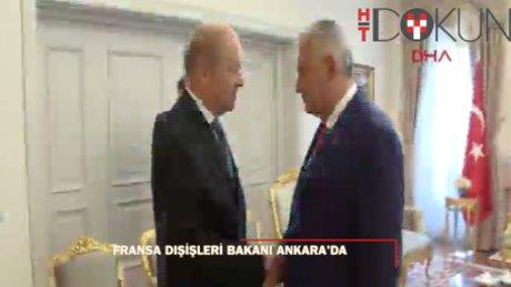 Fransa Dışişleri Bakanı Ankara'da