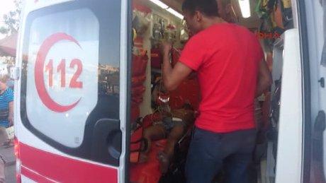 Beşiktaş'ta bir genç boğulmaktan son anda kurtarıldı