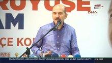 Süleyman Soylu'dan sosyal medyada paylaşılan fotoğrafa ilişkin açıklama