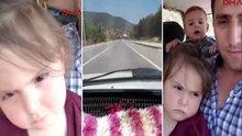 3 yaşındaki Nisa'nın son görüntüleri yürekleri burktu!
