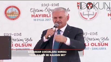 """Başbakan'dan TEOG açıklaması: """"Toplumun ihtiyaçları değişim gerektiriyor """""""