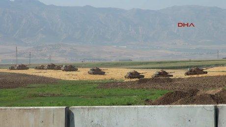 Irak sınırındaki tatbikat alanı genişletildi