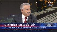 Ulaştırma Bakanı Ahmet Arslan Habertürk TV'de