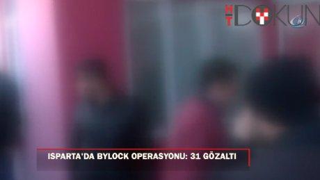 Isparta'da FETÖ operasyonu: 31 gözaltı