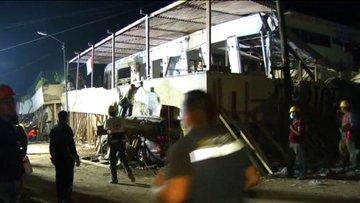 Meksika'daki depremde çöken bir okulda 22 çocuk yaşamını yitirdi.