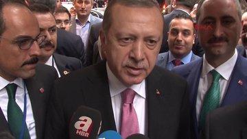 Cumhurbaşkanı Erdoğan: Kararlılığımızı ortaya koyacağız