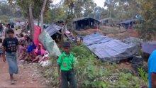 Bangladeş'te Rohingya Müslümanlarının kampları görüntülendi