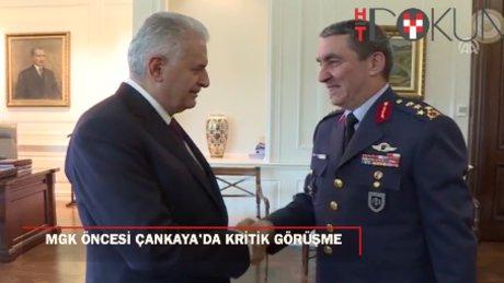MGK öncesi önemli buluşma: Kara Kuvvetleri Komutanı Çankaya'da