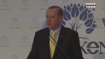 Cumhurbaşkanı Recep Tayyip Erdoğan Türken Vakfı gala yemeğinde konuştu