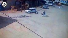 Trafik polisinin 3 kişiyi öldürdüğü o dehşet anları kamerada