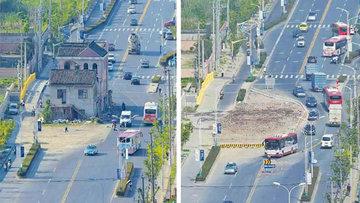 Çinli adamın yol ortasındaki evi 14 yıl sonra yıkıldı
