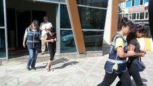 Hırsızlık için Türkiye turnesine çıkmışlar... Önce kameraya sonra polise yakalandılar