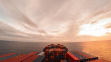 Bir geminin 30 günlük yolculuğunu 10 dakikada izleyin!