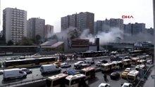 Şirinevler Ataköy Metro istasyonundaki yangın söndürüldü