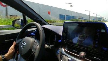 Toyota C-HR'ı test sürüşü