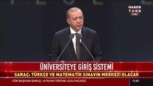 Cumhurbaşkanı Erdoğan araştırma üniversitesi olarak belirlenen 10 üniversiteyi açıkladı