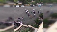 Ataköy Anadolu Lisesi'nde dehşet anları kamerada