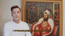 Mesut Özil, 3. Selim portresini Fatih Sultan Mehmet diye tanıttı