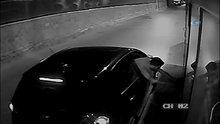 Otobüsün deposundan mazot çalan hırsızlar kamerada