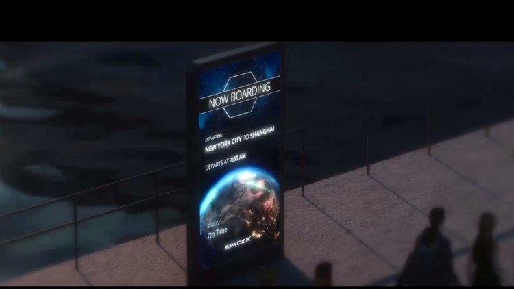 Elon Musk'ın kıtalararası projesi