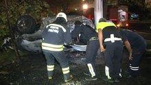 Konya'daki kazada 5 kişiden 3'ü yanarak can verdi!