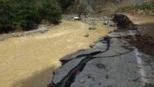 Rize'de sel ve heyelanın ardından 3 gün sonra ulaşılan köy