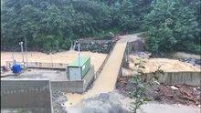 Rize'de şiddetli yağış hayatı olumsuz etkiledi